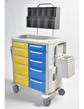 MS 25 ANESTHESIA TROLLEY
