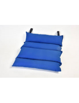 BACKREST CUSHION FOR WHEELCHAIR IN SILICONE HOLLOW FIBER