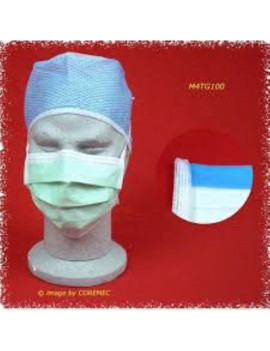 M4TG100 – 4-LAYER SURGICAL MASK, RESISTANT FLUID