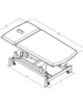 TABLE FISIO BOBATH - FB.100.2