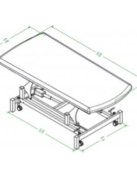 TABLE FISIO BOBATH - FB.100.1