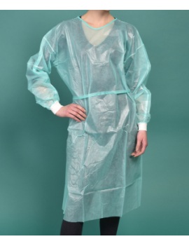 VTG00 - WATERPROOF DRESSING GOWN WITH BELT