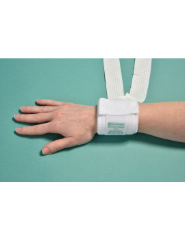 LIMBS HOLDERS Fast opening with Velcro - breathable, in medical TNT